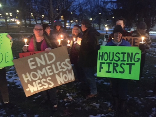 Aid Sought for the Homeless in Middlebury