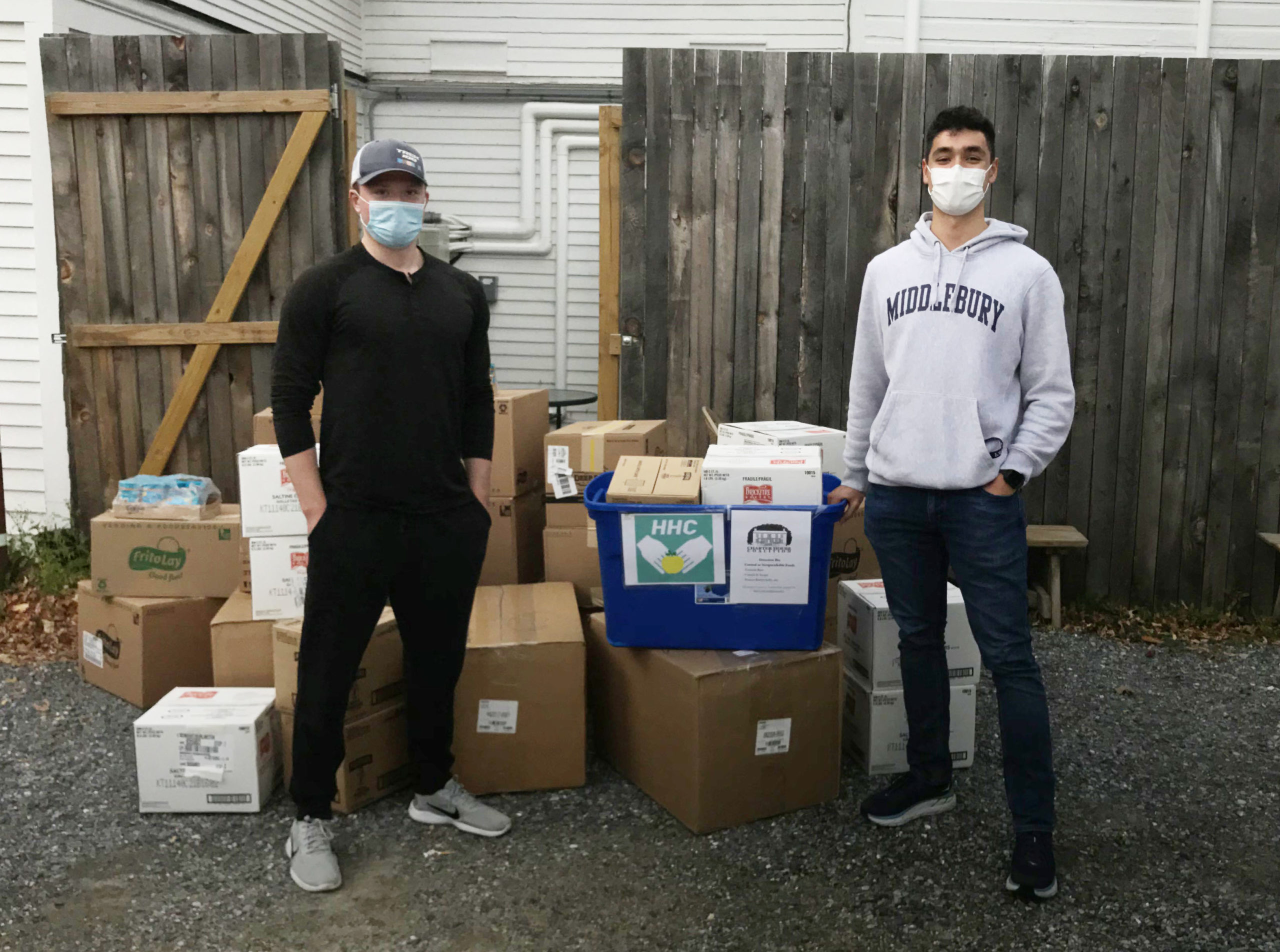 Read more about the article College Student Helps Feed Middlebury Homeless